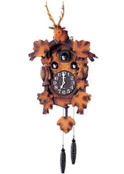 Rhythm Часы с кукушкой Rhythm 4MJ419-R06. Коллекция Часы с кукушкой nixon часы nixon a934 2042 коллекция minx