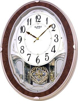 Rhythm Настенные часы  Rhythm 4MJ421WD23. Коллекция настенные часы swarovski vremya lyubvi