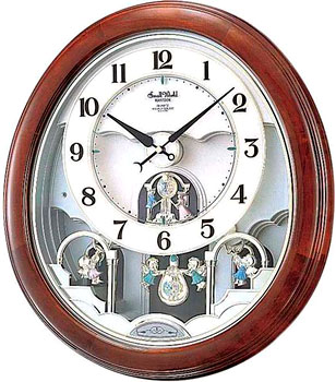 Rhythm Настенные часы Rhythm 4MJ854WD06. Коллекция Century rhythm настенные часы rhythm cmw901nr06 коллекция century