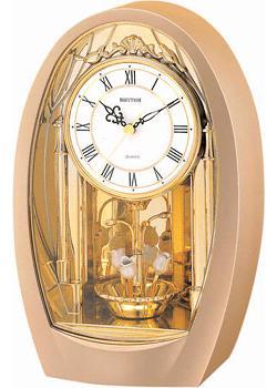 Rhythm Настольные часы  Rhythm 4RH742WD08. Коллекция Century rhythm настольные часы rhythm 4sg696wr18 коллекция century