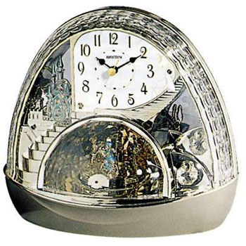 Rhythm Настольные часы Rhythm 4RH770WD18. Коллекция Century rhythm настенные часы rhythm cmg743nr06 коллекция century