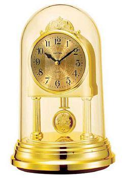 Rhythm Настольные часы Rhythm 4RP777WR18. Коллекция Century часы rhythm cre850wr06