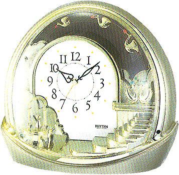 Rhythm Настольные часы Rhythm 4SE443WR18. Коллекция Century настольные часы rhythm 4se443wr18