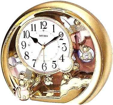 Rhythm Настольные часы Rhythm 4SE504WR18. Коллекция Century rhythm настольные часы rhythm 4se535wt18 коллекция century