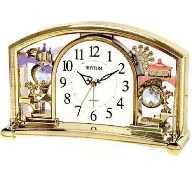 Rhythm Настольные часы Rhythm 4SE535WT18. Коллекция Century rhythm настольные часы rhythm 4se535wt18 коллекция century