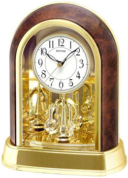 Rhythm Настольные часы Rhythm 4SG696WT23. Коллекция Century rhythm настольные часы rhythm 4se535wt18 коллекция century