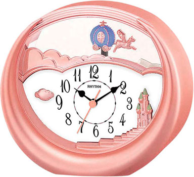 Rhythm Настольные часы Rhythm 4SG719WD13. Коллекция Настольные часы часы rhythm lct073nr02