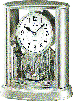Rhythm Настольные часы Rhythm 4SG724WR19. Коллекция Century