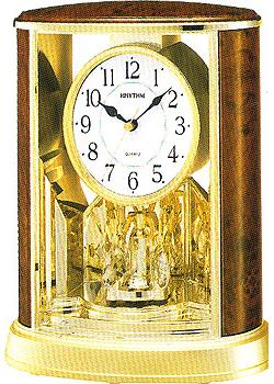 Rhythm Настольные часы Rhythm 4SG724WS06. Коллекция Century nesti dante мыло olivae di toscana тосканская олива 150г
