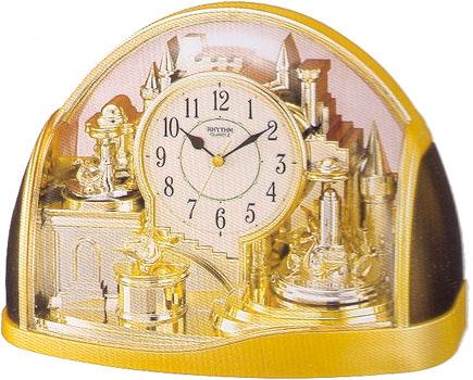 Rhythm Настольные часы Rhythm 4SG738WR18. Коллекция Century rhythm cmg738br19