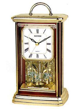 Rhythm Настольные часы Rhythm 4SG771WT06. Коллекция Century rhythm настольные часы rhythm 4se535wt18 коллекция century