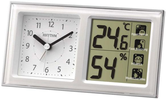 Rhythm Настенные часы Rhythm 8RE648WR03. Коллекция настенные и настольные часы