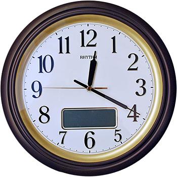 Rhythm Настенные часы Rhythm CFG714NR06. Коллекция Century forester mobile пикник под ключ мангал разборный со складным дном и рёбрами жёсткости 40х30х40см