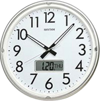 Rhythm Настенные часы  Rhythm CFG717NR19. Коллекция Настенные часы rhythm настенные часы rhythm cmg771nr02 коллекция