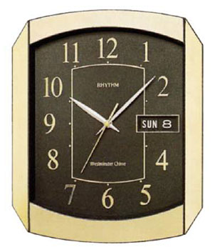 Rhythm Настенные часы  Rhythm CFH102NR18. Коллекция Century rhythm настенные часы rhythm cmg775nr18 коллекция настенные часы