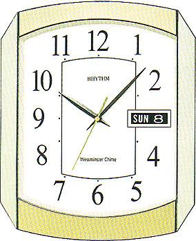 Rhythm Настенные часы Rhythm CFH102NR65. Коллекция Century clock fashion lovers men women romantic leather band quartz analog wrist watch gift high qulity hot selling popular durable m3