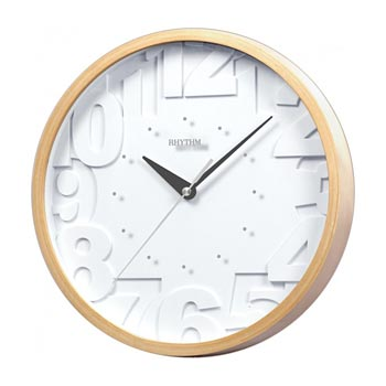 Rhythm Настенные часы  Rhythm CMG102NR07. Коллекция rhythm cmg457nr03