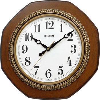Rhythm Настенные часы  Rhythm CMG110NR06. Коллекция rhythm настенные часы rhythm cmg771nr02 коллекция