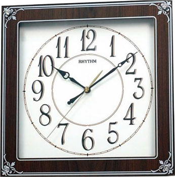 Rhythm Настенные часы  Rhythm CMG112NR06. Коллекция Century rhythm настенные часы rhythm 4mp726ws18 коллекция century