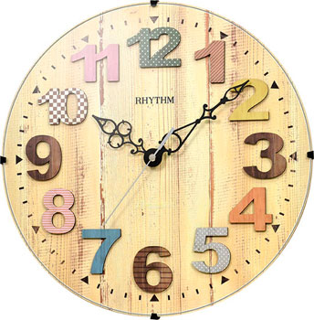 Rhythm Настенные часы Rhythm CMG117NR06. Коллекция Настенные часы настенные часы rhythm cmg495nr05