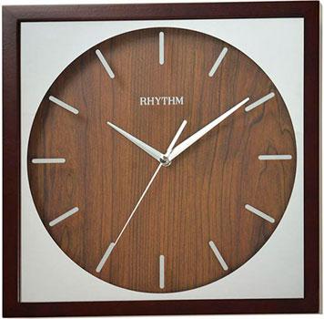 Rhythm Настенные часы Rhythm CMG119NR06. Коллекция Настенные часы anne klein часы anne klein 2577svsv коллекция crystal