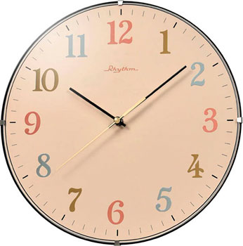 Rhythm Настенные часы  Rhythm CMG125NR38. Коллекция Настенные часы настенные часы rhythm cmj494nr06