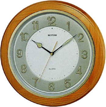 Rhythm Настенные часы  Rhythm CMG266BR07. Коллекция Century