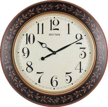 Rhythm Настенные часы Rhythm CMG292NR06. Коллекция Настенные часы 3d настенные часы безрамные современные зеркальные металлы большие настенные наклейки часы настенные часы room home decorations