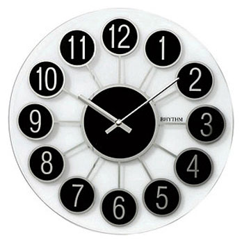 Rhythm Настенные часы Rhythm CMG738BR02. Коллекция Century часы rhythm cmg977nr06