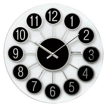 Rhythm Настенные часы Rhythm CMG738BR02. Коллекция Century