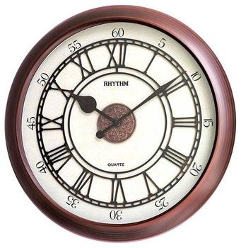Rhythm Настенные часы Rhythm CMG743NR06. Коллекция Century цена и фото