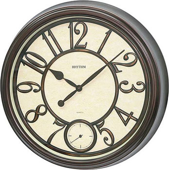 Rhythm Настенные часы Rhythm CMG746NR06. Коллекция Century rhythm настенные часы rhythm cmg746nr06 коллекция century