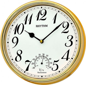 Rhythm Настенные часы Rhythm CMG776NR18. Коллекция Настенные часы настенные часы огого обстановочка 40x40 см family time 312820
