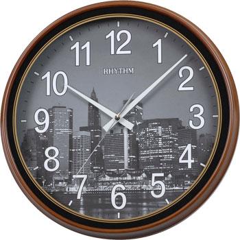 Rhythm Настенные часы  Rhythm CMG898AZ37. Коллекция rhythm 4fh626wr06
