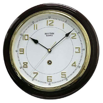 Rhythm Настенные часы Rhythm CMG931NR06. Коллекция Century rhythm настенные часы rhythm cmg114nr06 коллекция настенные часы