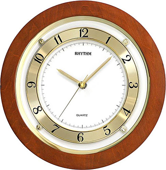 Rhythm Настенные часы Rhythm CMG975NR06. Коллекция Century rhythm настенные часы rhythm cmg743nr06 коллекция century