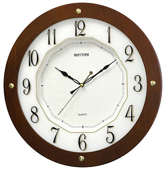 Rhythm Настенные часы Rhythm CMG977NR06. Коллекция Century цена и фото