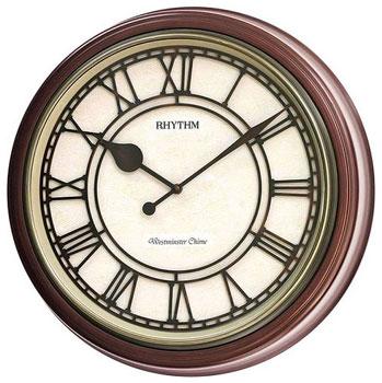 Rhythm Настенные часы Rhythm CMH740NR06. Коллекция Century часы янтарь с боем