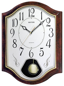 Rhythm Настенные часы Rhythm CMJ494NR06. Коллекция Century rhythm настенные часы rhythm cmg809nr19 коллекция century