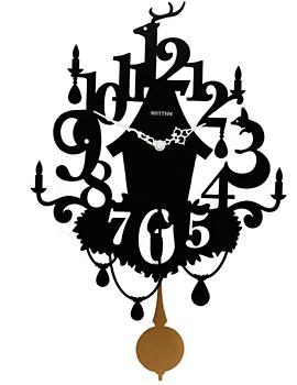 Rhythm Настенные часы Rhythm CMP533NR02. Коллекция Century настенные часы lefard винтаж 799 145 34 х 34 х 4 5 см