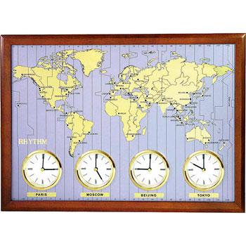 цена на Rhythm Настенные часы Rhythm CMW902NR06. Коллекция Century