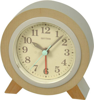 Rhythm Настольные часы Rhythm CRE954NR07. Коллекция Настольные часы rhythm настольные часы rhythm cre954nr07 коллекция настольные часы