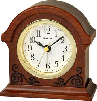 Rhythm Настольные часы Rhythm CRE956NR06. Коллекция Настольные часы rhythm настольные часы rhythm 4sg607wb13 коллекция настольные часы