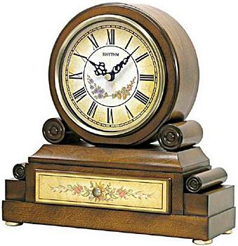Rhythm Настольные часы Rhythm CRH136NR06. Коллекция Century кисть радиаторная stayer 0110 50 z01