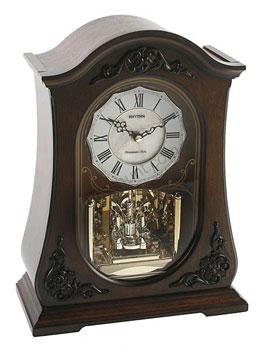 Rhythm Настольные часы Rhythm CRH165NR06. Коллекция Century часы янтарь с боем
