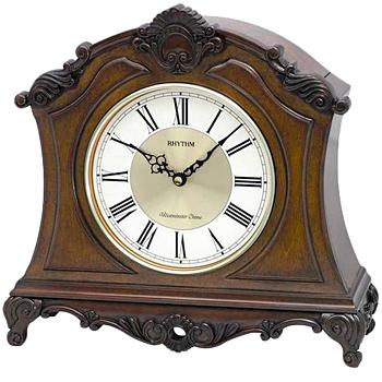 Rhythm Настольные часы Rhythm CRH170NR06. Коллекция Century часы янтарь с боем
