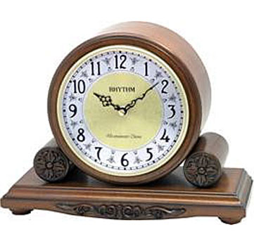 Rhythm Настольные часы Rhythm CRH172NR06. Коллекция Century часы янтарь с боем