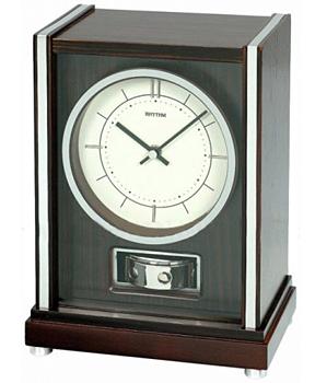 Rhythm Настольные часы Rhythm CRH207NR06. Коллекция Century rhythm настенные часы rhythm cmg743nr06 коллекция century