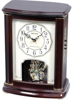 Rhythm Настольные часы Rhythm CRH212NR06. Коллекция shanggong 2kg