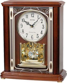 Rhythm Настольные часы  Rhythm CRH226NR06. Коллекция rhythm настенные часы rhythm cmg771nr02 коллекция